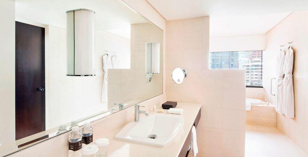 Y con baño privado tailandés en la misma