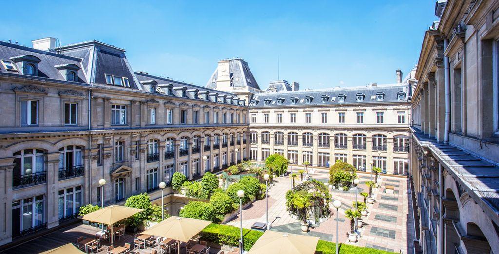 Un lugar con espectaculares vistas - Crowne Plaza Paris République 4* París