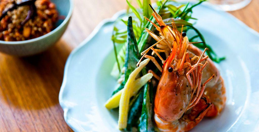 El restaurante Glow sirve platos saludables y ligeros