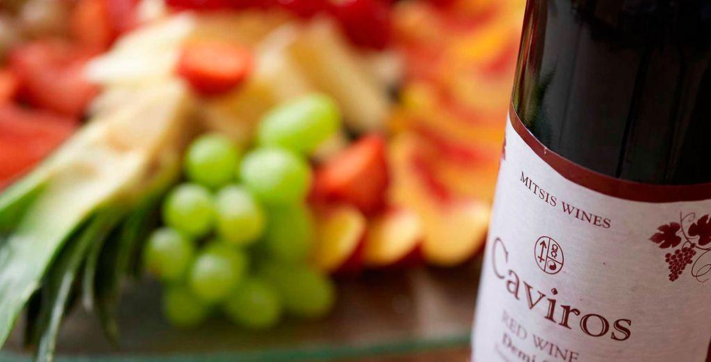 Déseje sorprender por los vinos y sabores de la tierra