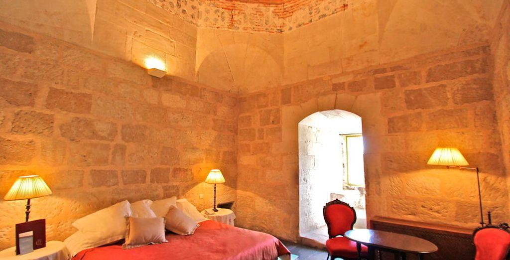 O en una habitación Deluxe Medieval