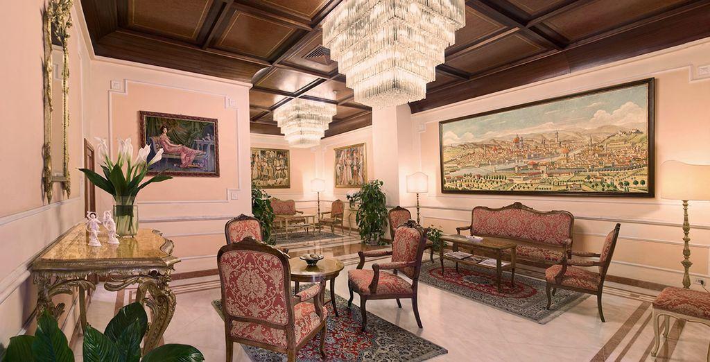 Después de Bolonia te espera Florencia, donde te alojarás en Hotel Pierre 4*