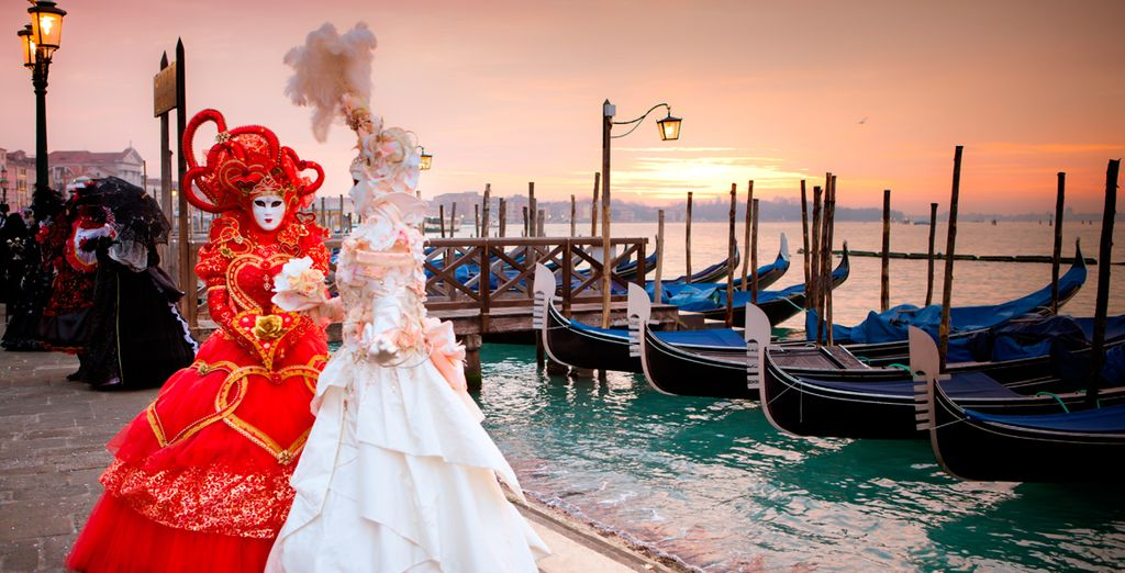 Bienvenido a la gran Venecia