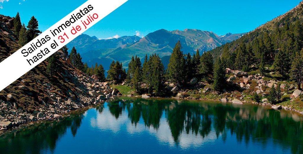 El acceso a Grandvalira, el más grande dominio esquiable de los Pirineos