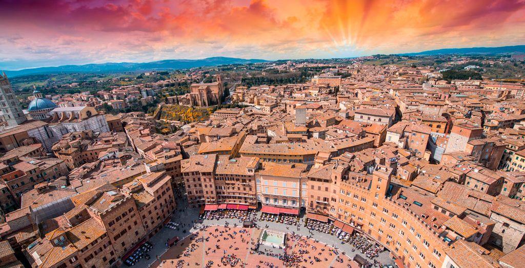Visite una de las ciudades italianas con más encanto: Siena
