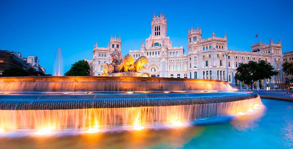 Central de vacaciones de Tesoros de Castilla y Madrid