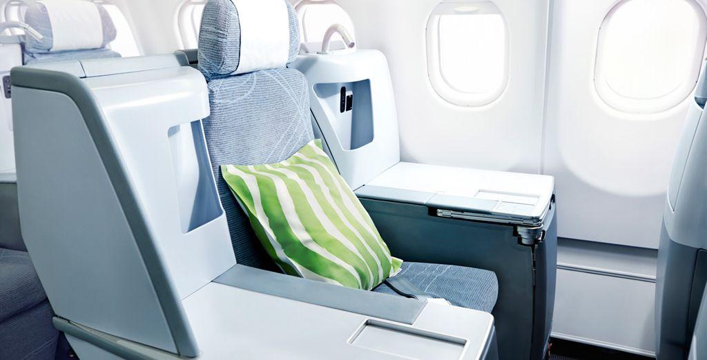 Finnair ha sido la primera compañía aérea europea en volar con el nuevo Airbus A350-900 XWB, un avión de última generación