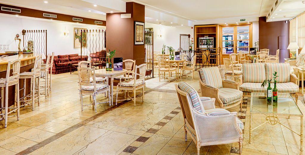 Interiores con decoración clásica que desprenden calidez