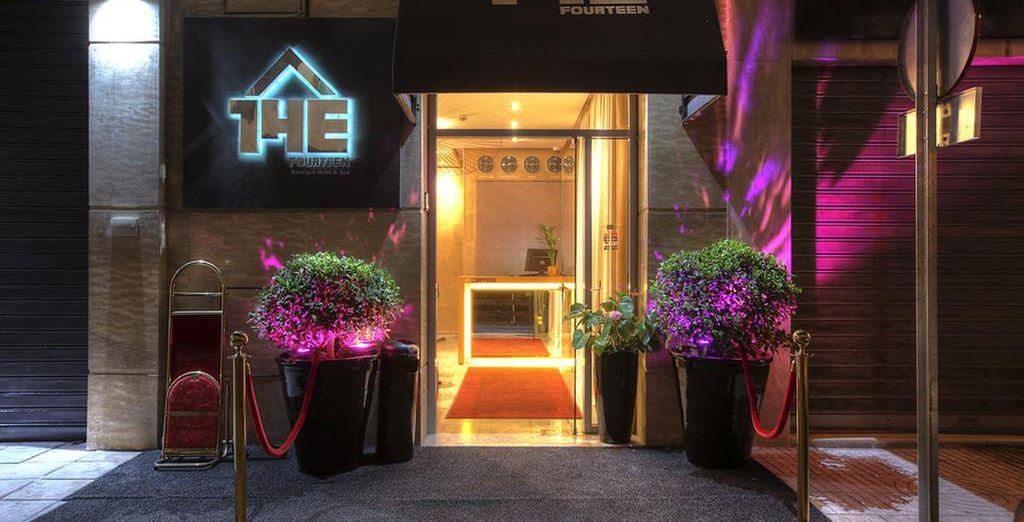 Te alojarás en The Fourteen Luxury Boutique Hotel 4*
