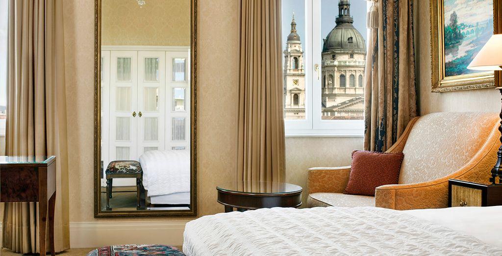 Fantástica habitación para su merecido descanso
