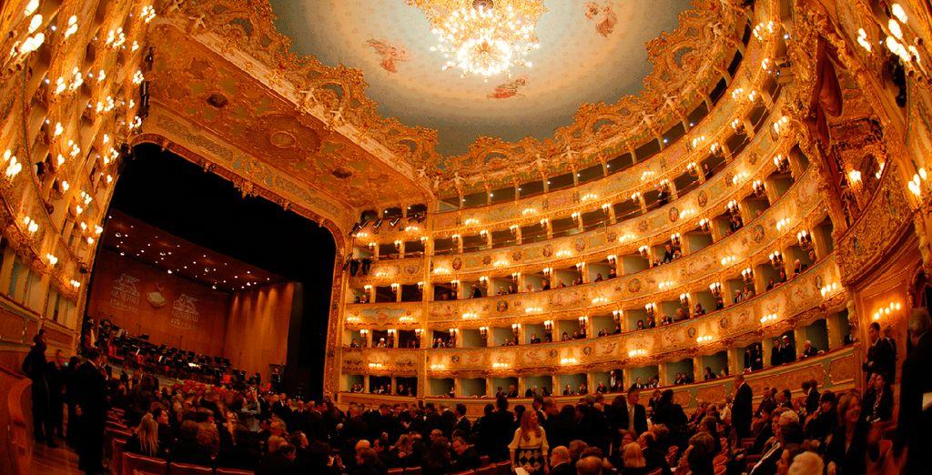 El mítico teatreo de La Fenice