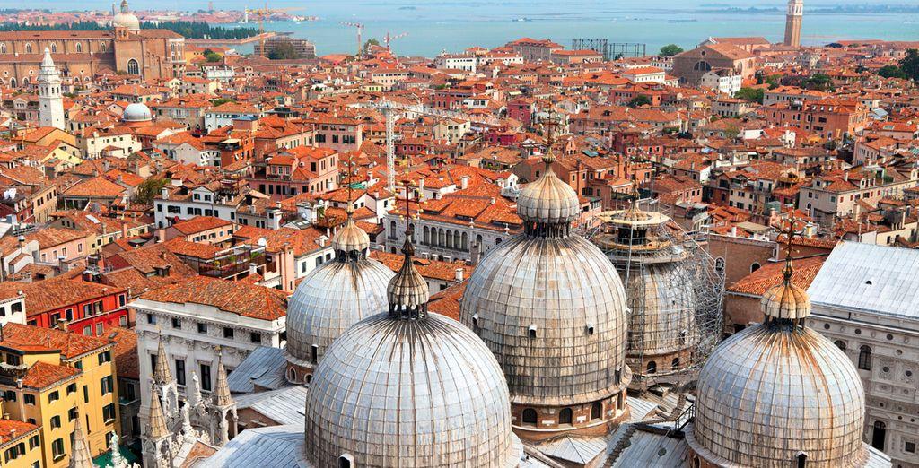 Vista panorámica de Venecia