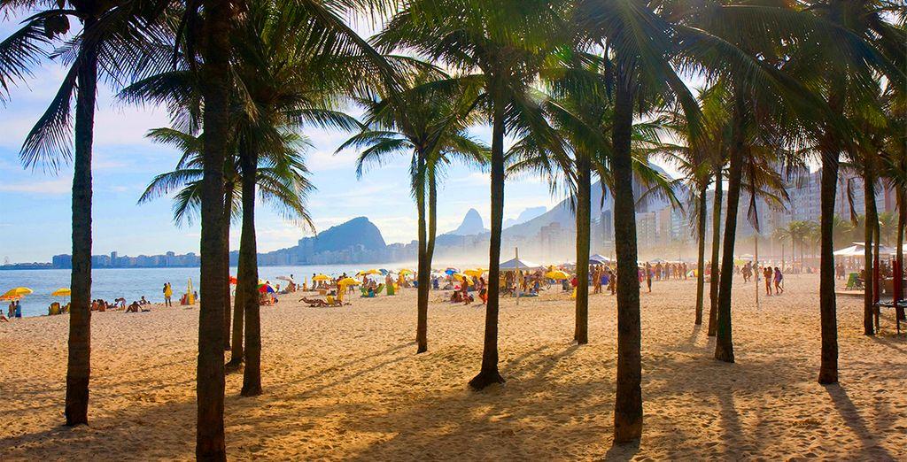 o en la fantástica Copacabana