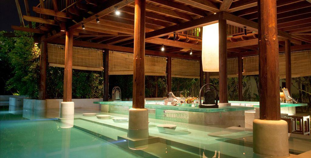 Una piscina grande perfecta para disfrutar del buen tiempo de la zona