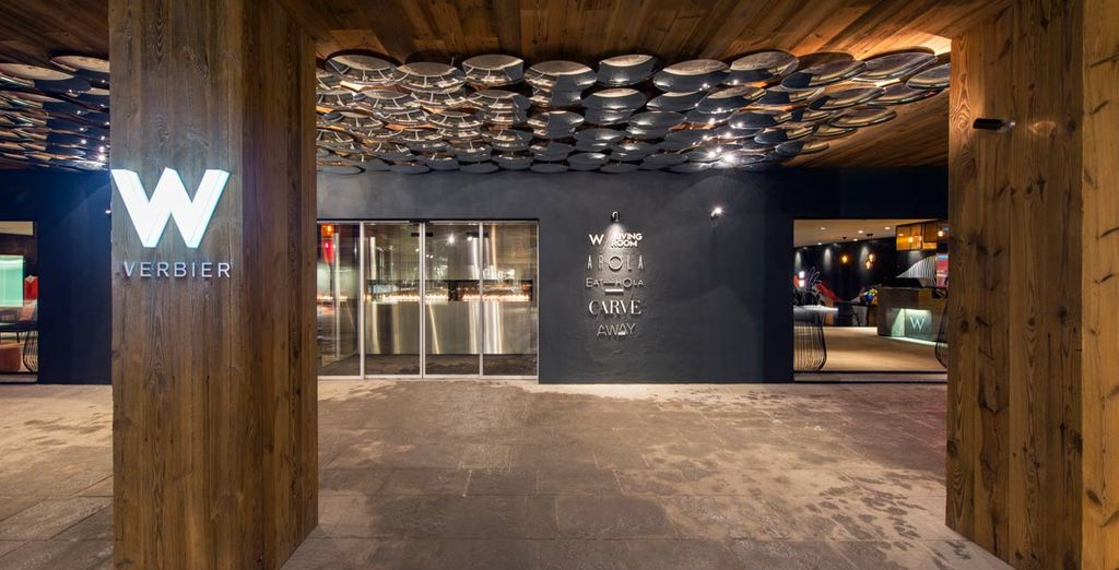 Un hotel de lujo situado en el moderno centro de Verbier