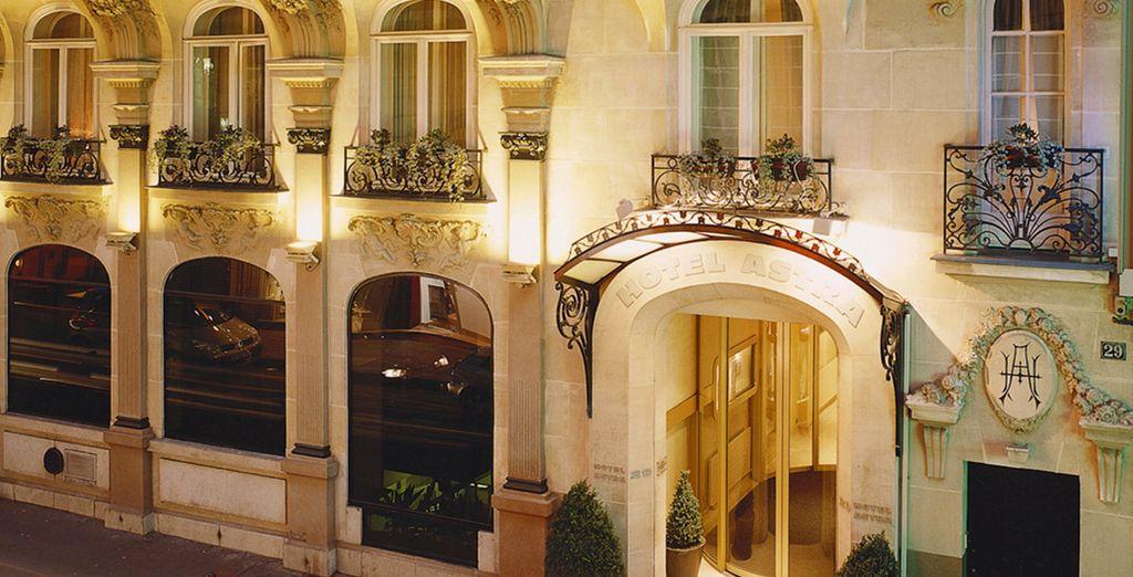 Les presentamos el Hotel Astra Opera