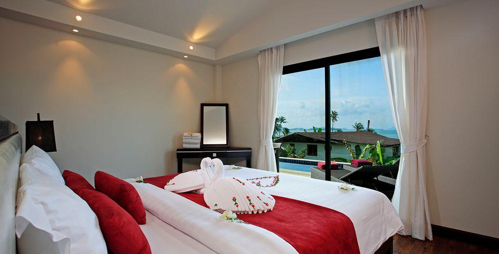 Descanse en su Suite Tropical