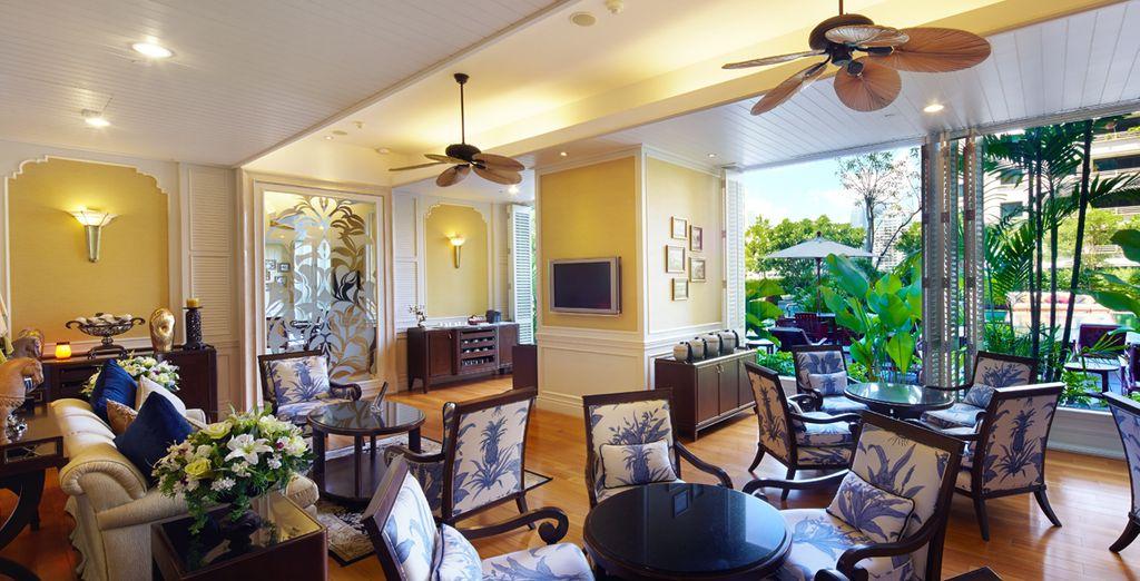 Descubra sus zonas comunes y relájese en ellas, Hotel Grande Centre Point