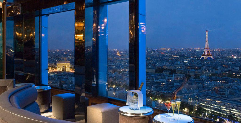 Unas increibles vistas a la Torre Eiffel