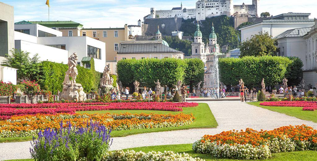 Palacio de Mirabell, famosos por sus jardines