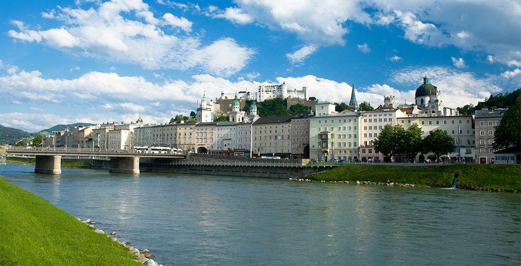 Salzsburgo, ciudad natal de Mozart