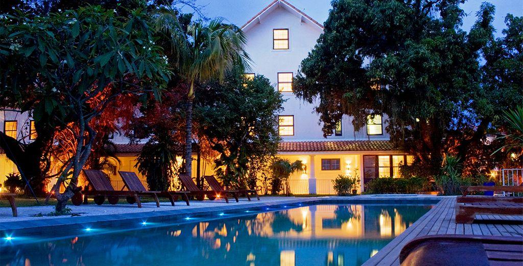 El Hotel Santa Teresa es un refugio de paz