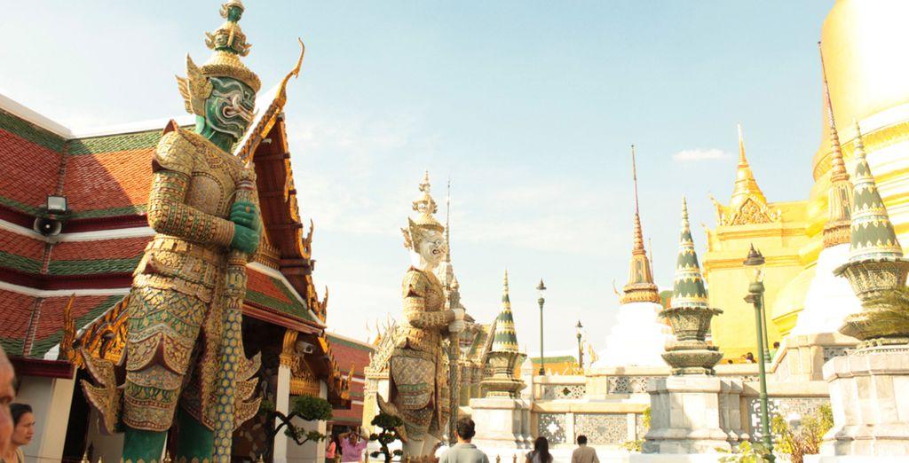 Visite los más famosos Templos de Bangkok