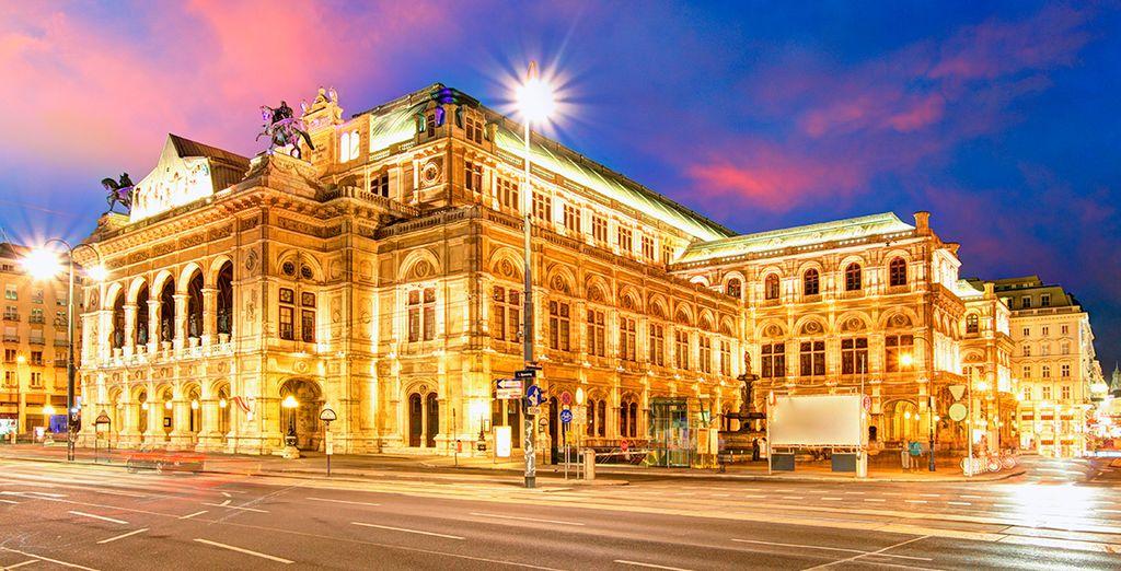 Visite la magnífica Ópera de Viena