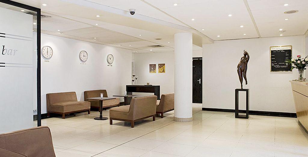 Un hotel moderno y de diseño...