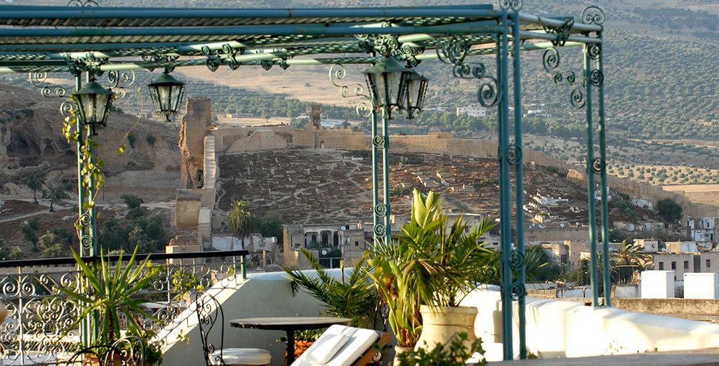 Disfrute del buen tiempo en Fez