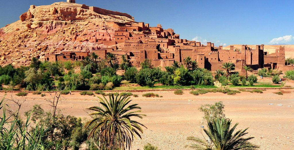 Ouarzazate, lugar desde el cual parten grandes expediciones