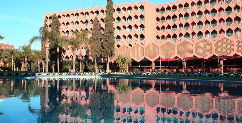Hotel Atlas Asni 4*, Marrakech