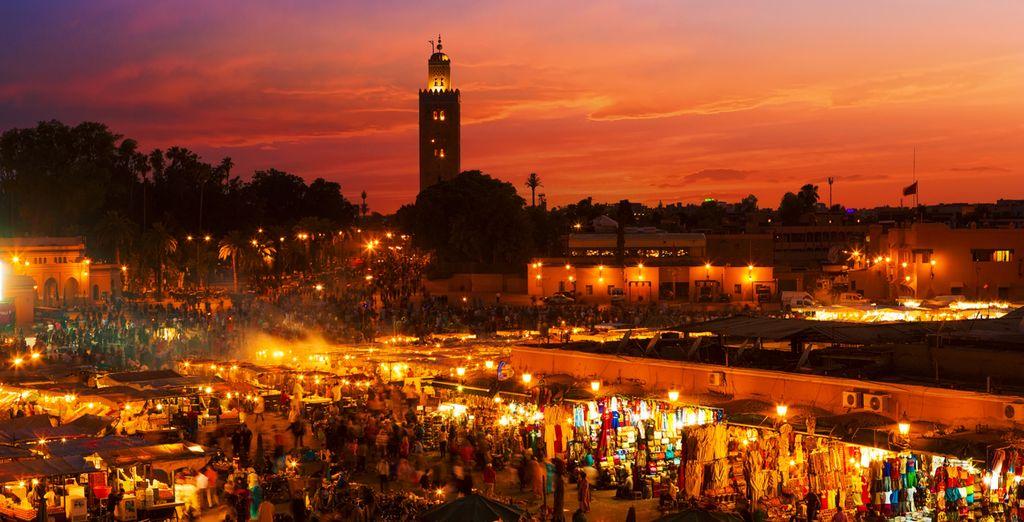 Marrakech es conocida como la capital cultural de Marruecos