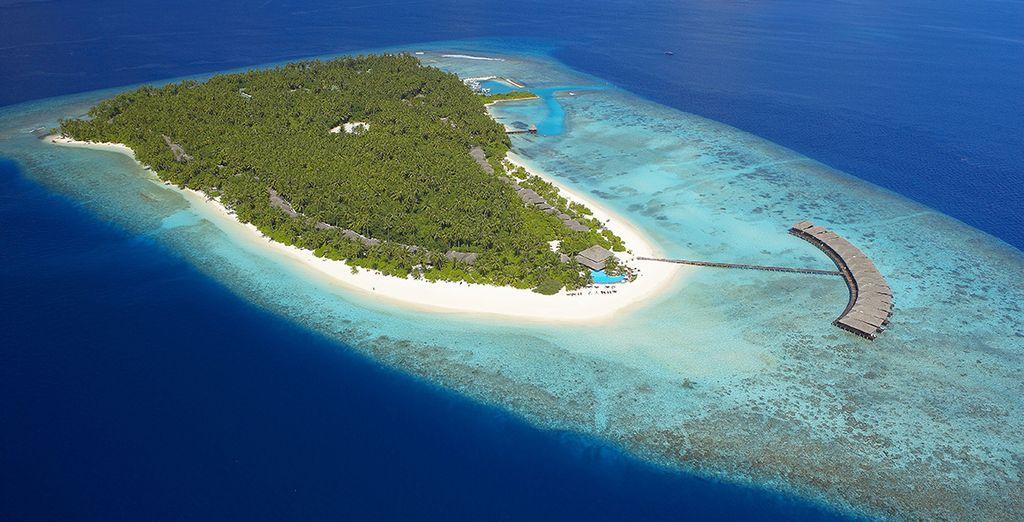 Una isla perdida en el oceáno Índico