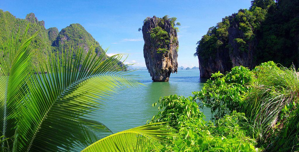 Belleza exótica en toda la isla