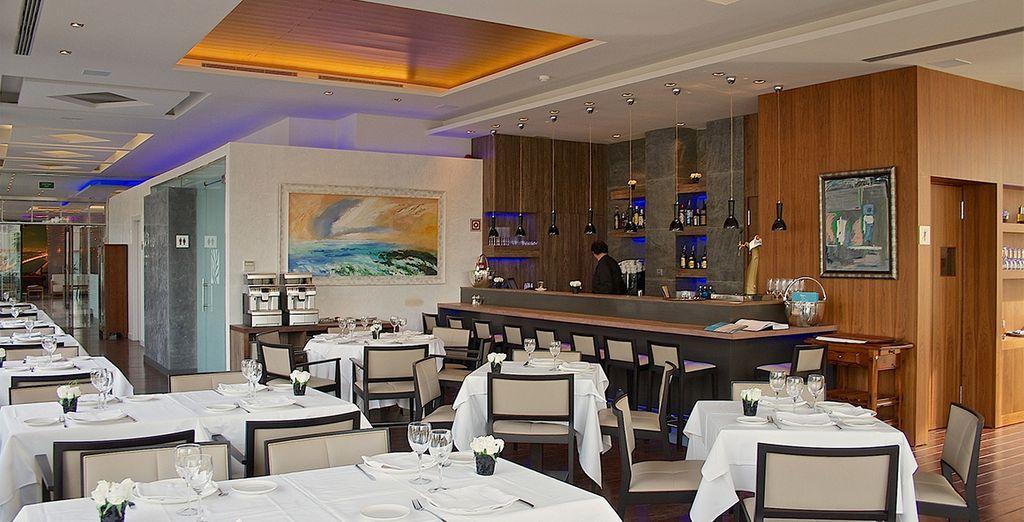 Su restaurante es un punto internacional de referencia, para saborear las mejores propuestas gastronómicas