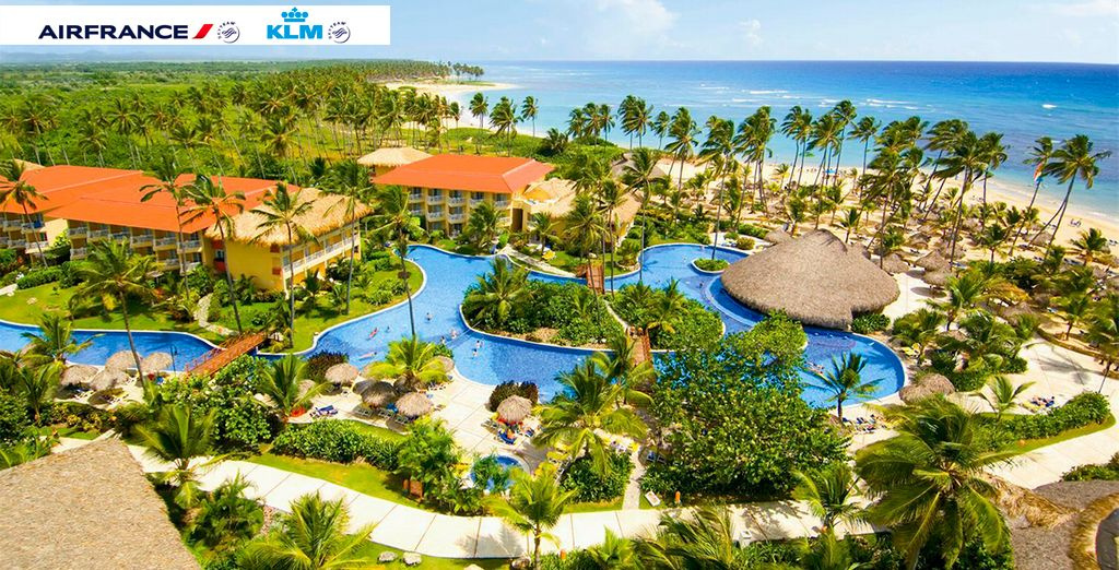 Bienvenido al Hotel Dreams Punta Cana