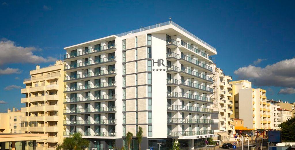 Un hotel en primera línea de mar