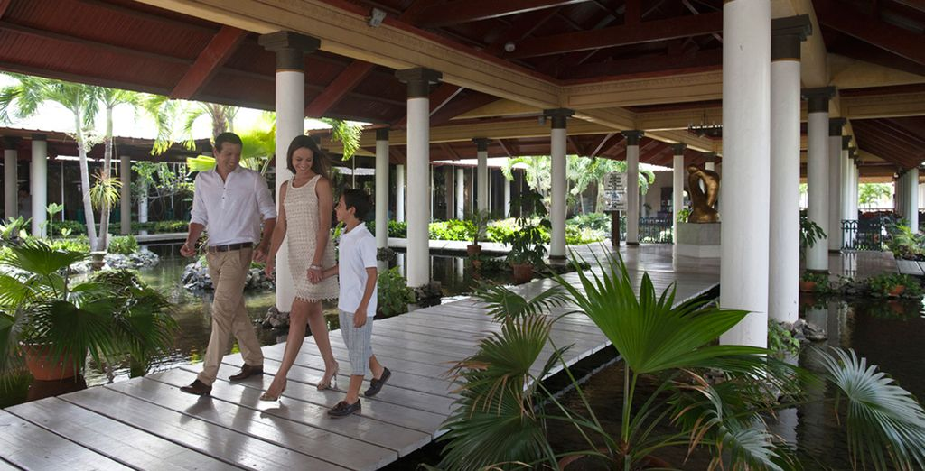 Disfrute de este eco-resort de playa recomendado para familias