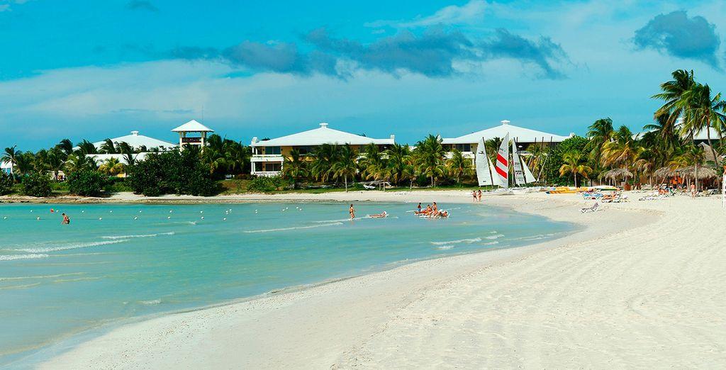 Playas paradisíacas enfrente del hotel