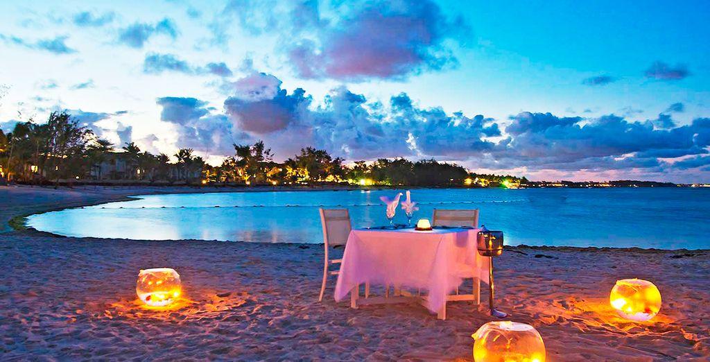 Y disfrute de sus atardeceres en la playa