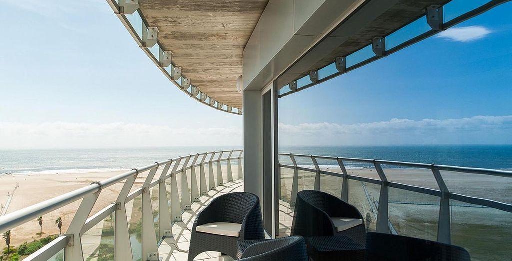 Un hotel cerca del mar