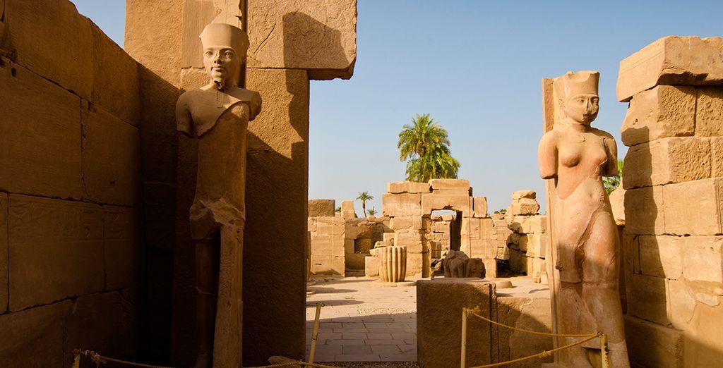 La majestuosidad de los templos de Karnak