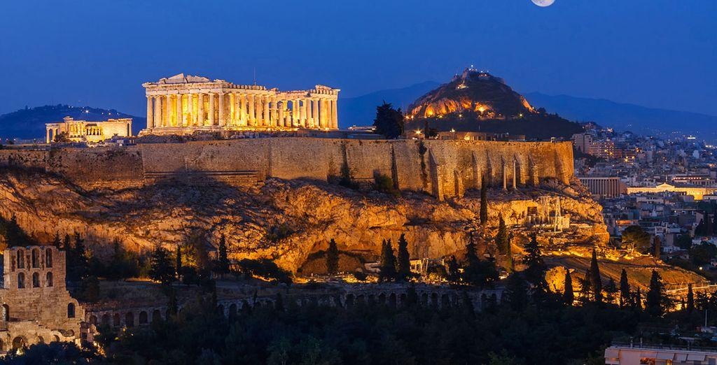 Visite el icono de la ciudad de Atenas: el Acrópolis