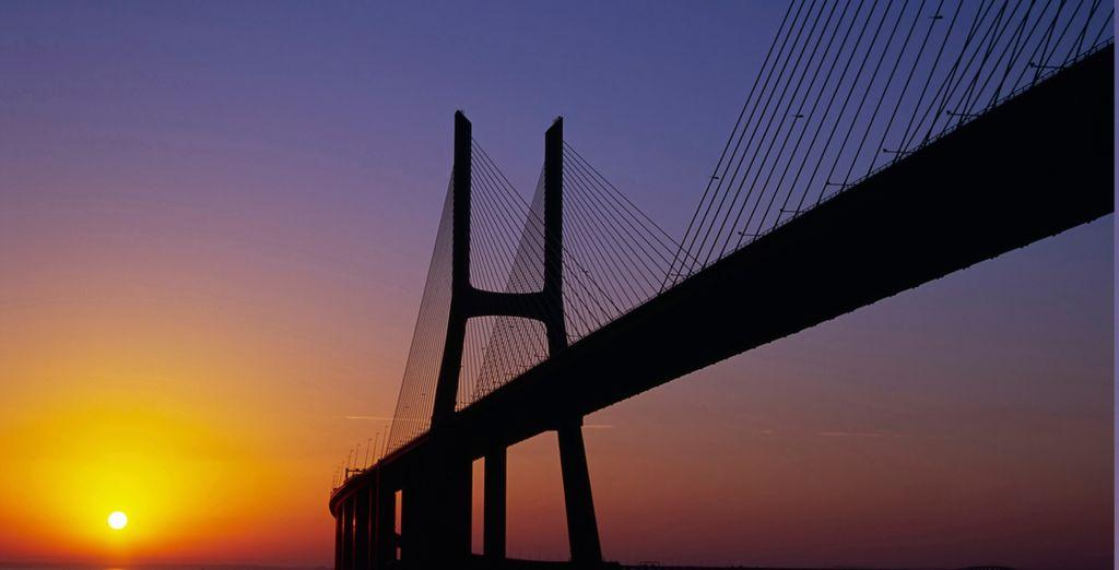 Descubra el Puente Vasco da Gama