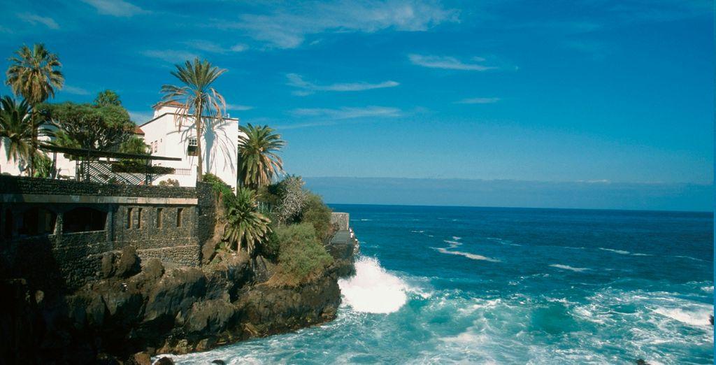 El Puerto de la Cruz es una de las zonas más turísticas de Tenerife...