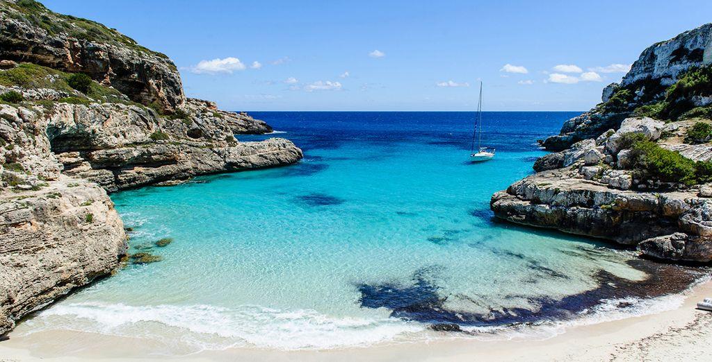 Playas de arena blanca y agua cristalinas