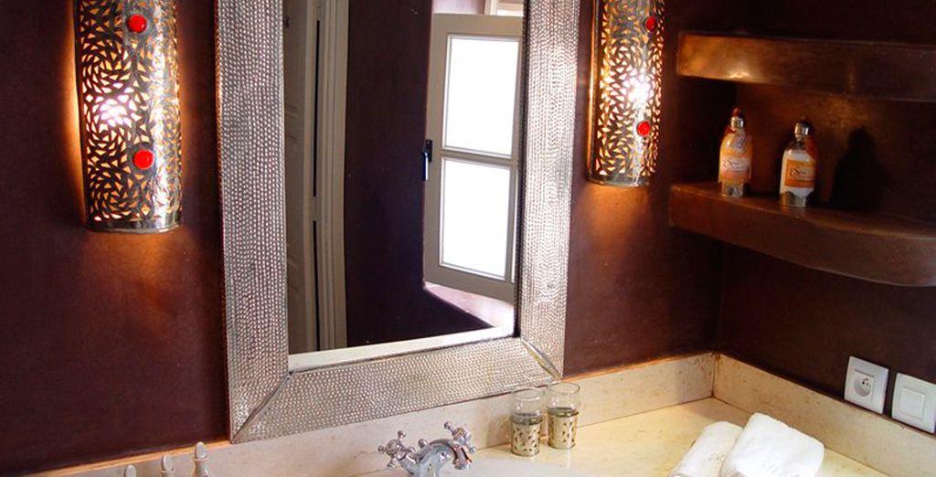 Con baño privado en su habitación