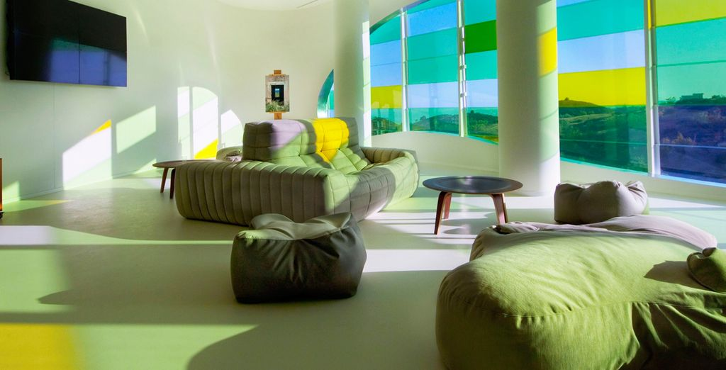 ... con el trabajo en conjunto de arquitectos, paisajistas y diseñadores de interiores