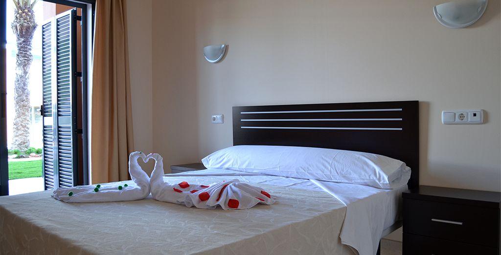Con habitaciones que garantizan su máximo confort